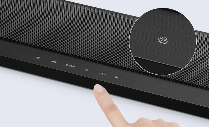 Soundbar 2.1 z technologiami Wi-Fi i Bluetooth HT-CT800