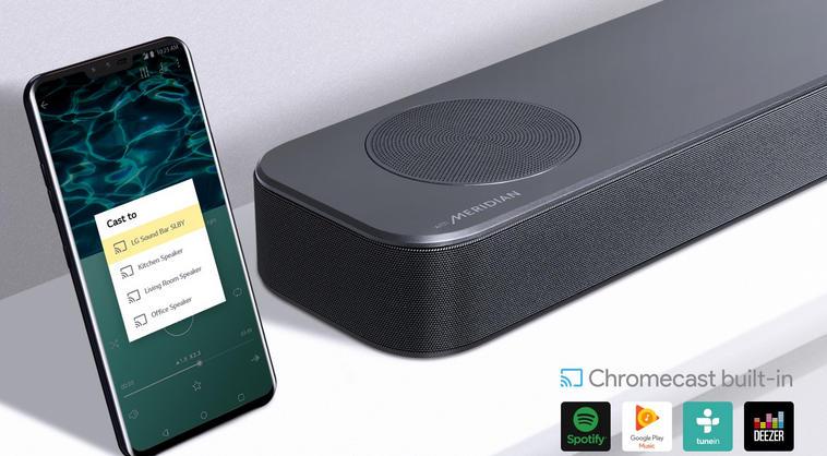 Soundbar LG SL8Y - łączność bezprzewodowa