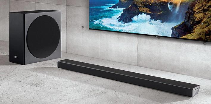 Soundbar Samsung Q70R 3.1.2 - HW-Q70R EN