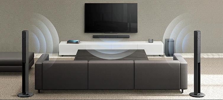 Soundbar Sony HT-RT4 - dźwięk przestrzenny